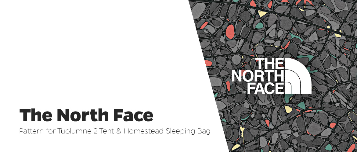 The North Face – Tuolumne 2 Tent and Homestead Sleeping Bag Pattern Design