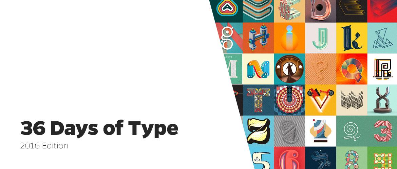 36 Days of Type – 2016